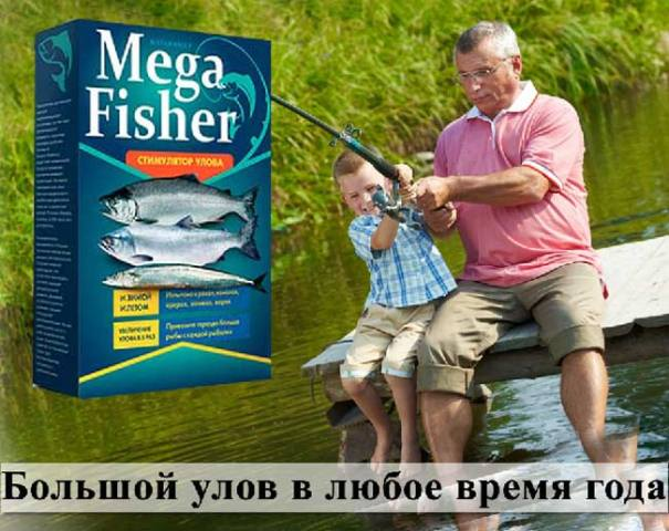 Mega Fisher купить