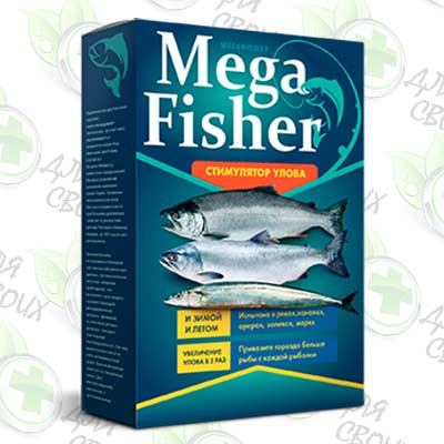 Mega Fisher приманка для рыбы